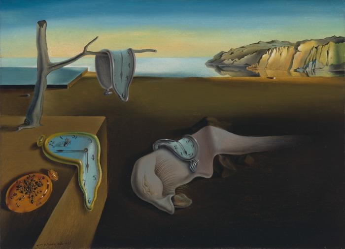 «Постоянство памяти» — одна из самых известных картин Сальвадора Дали. \ Фото: artchive.ru.