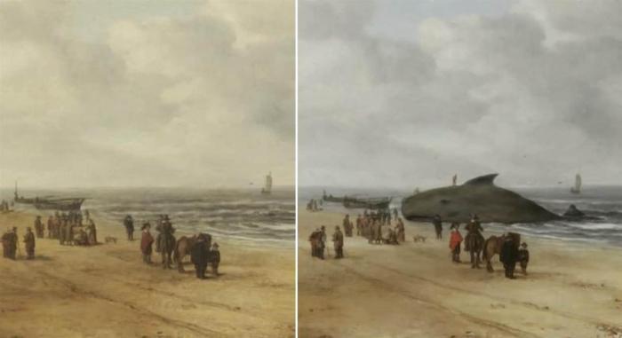 «Вид песков Схевенингена» — картина Хендрика ван Антонисса. \ Фото: cidadeaveiro.blogspot.com.