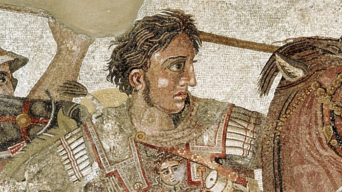 Александр Великий, александрийская мозаика, около 100 г. до н. э. \ Фото: hr.hr2021.com.