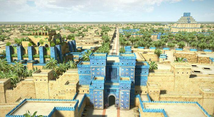 Древний Вавилон. \ Фото: pinterest.com.