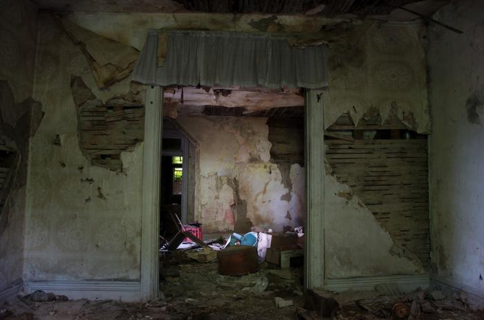 Место преступления серийного убийцы Роберта Берделла. Автор фото: Seph Lawless.