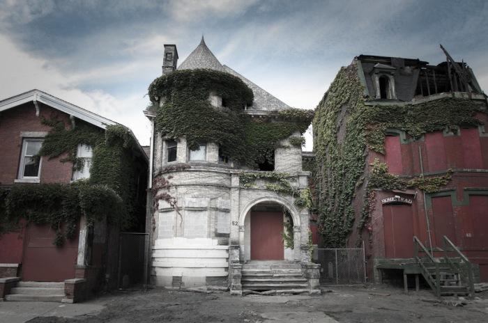 Храм-особняк с приведениями. Это место прославилось жестоким тройным убийством. Автор фото: Seph Lawless.