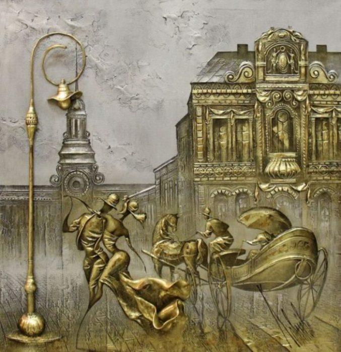 Вальс в старом городе. Автор: Сергей Ковалёв.