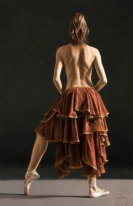 Пышная юбка. Автор: Sergio Martinez Cifuentes.