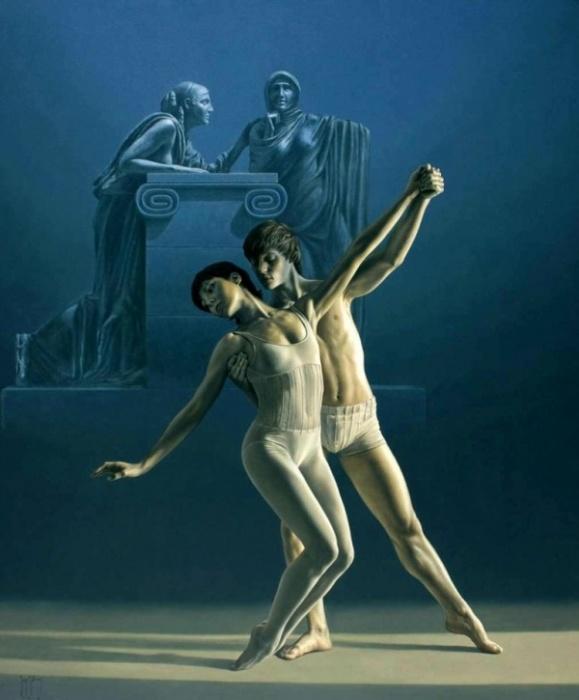 Танец. Автор: Sergio Martinez Cifuentes.