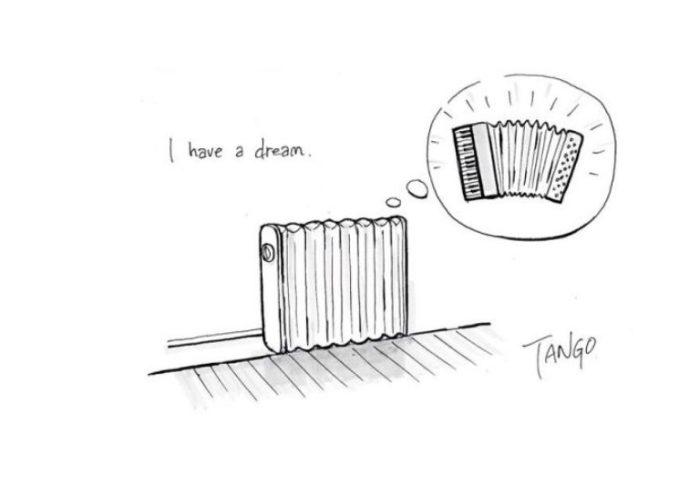 У меня есть мечта... Автор: Shanghai Tango.