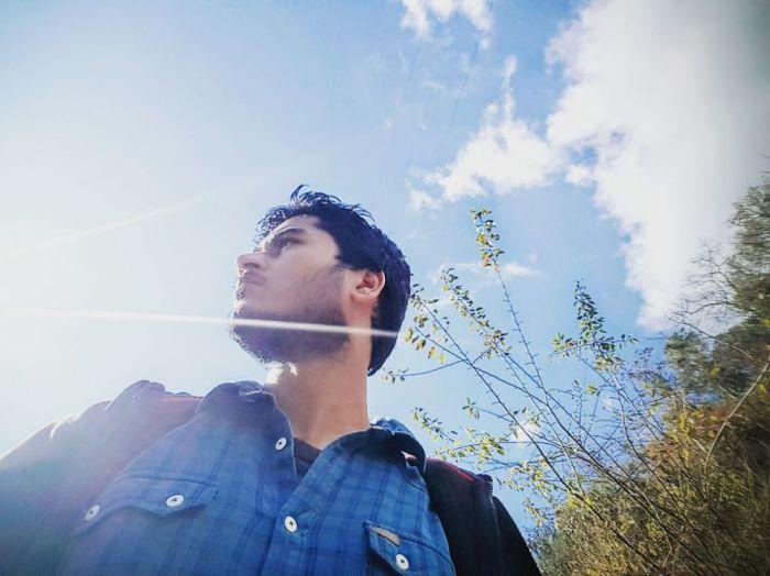 Солнечные блики. Автор: Shashank Shekhar.
