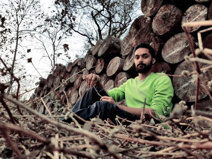 Портрет мужчины. Автор: Shashank Shekhar.