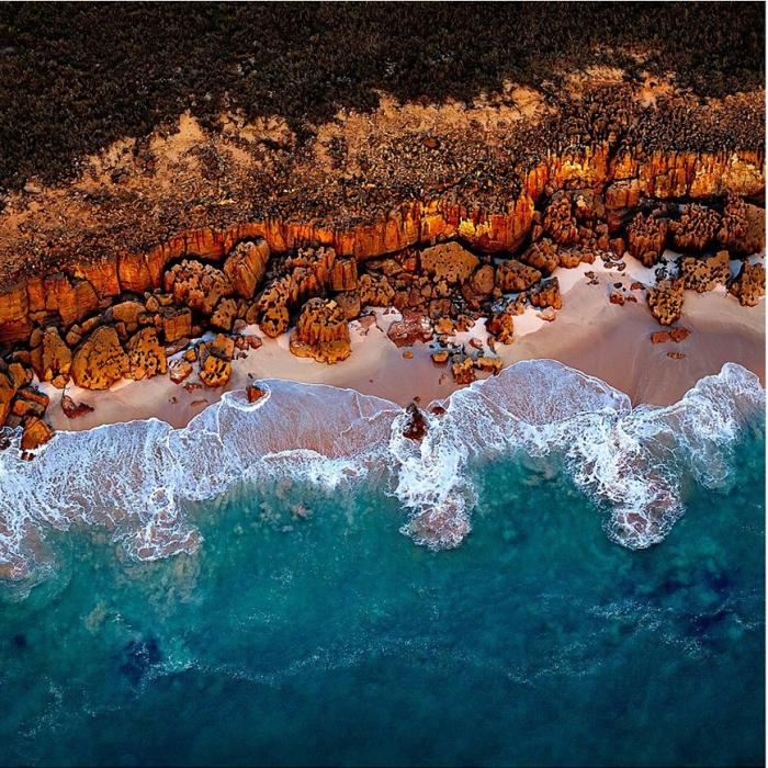Волшебные абстрактные аэрофотографии Австралии от Sheldon Pettit.
