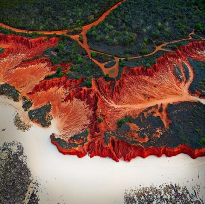 Абстрактные аэрофотографии Австралии от Sheldon Pettit.