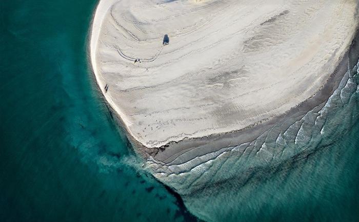 Головокружительные абстрактные аэрофотографии Австралии от Sheldon Pettit.