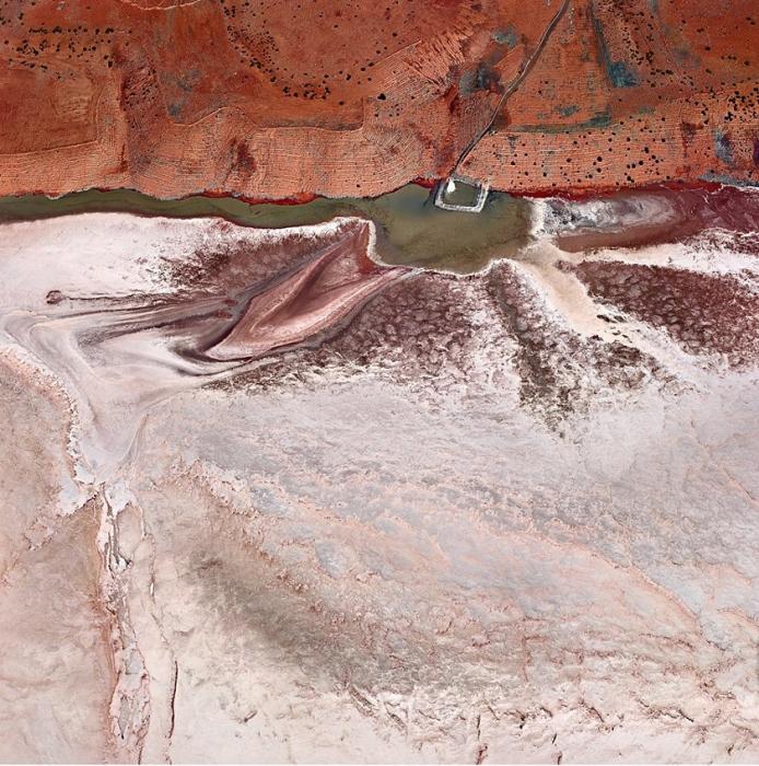 Чудеса природы. Впечатляющие абстрактные аэрофотографии Австралии от Sheldon Pettit.