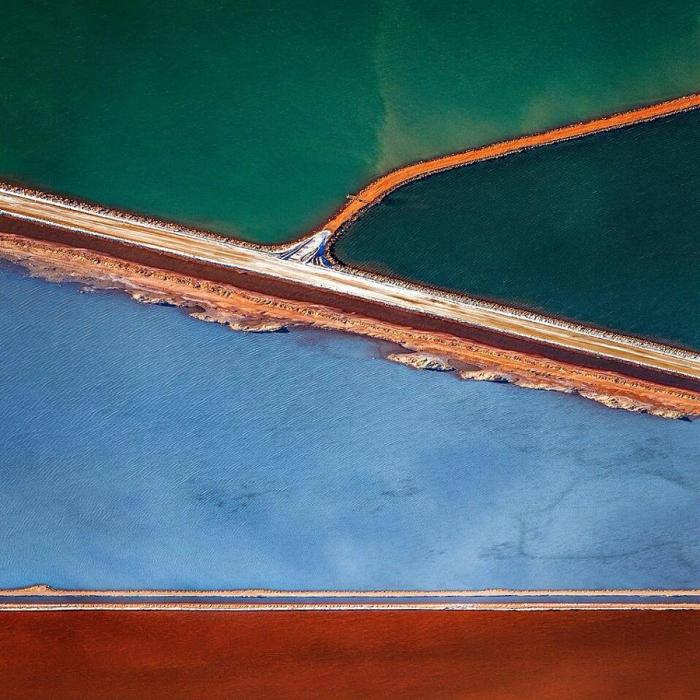 Великолепные абстрактные аэрофотографии Австралии от Sheldon Pettit.