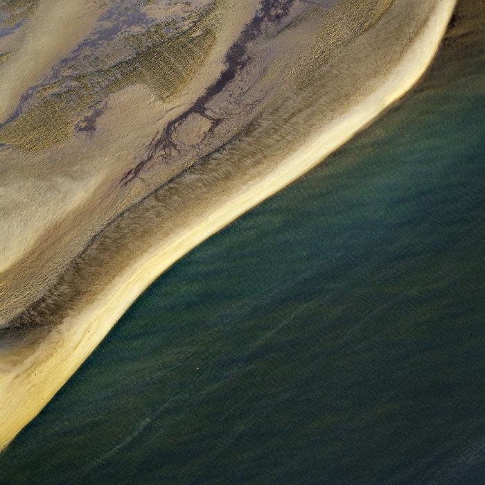 Во всей красе. Абстрактные аэрофотографии Австралии от Sheldon Pettit.