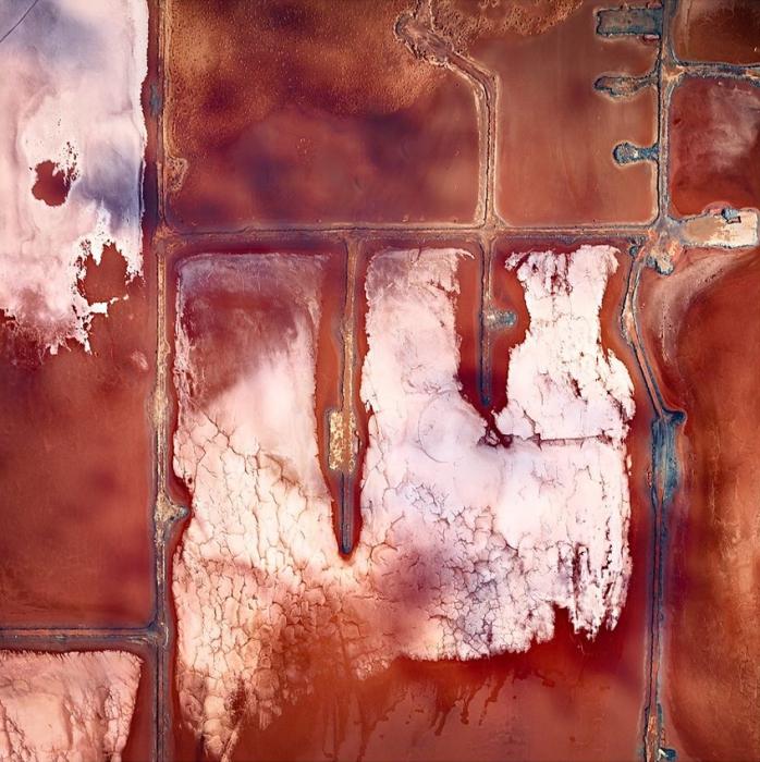 Невероятные абстрактные аэрофотографии Австралии от Sheldon Pettit.