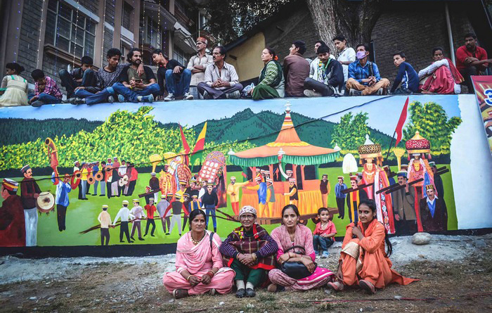 Индийский праздник Куллу Душера. Автор: Shikha Sood.