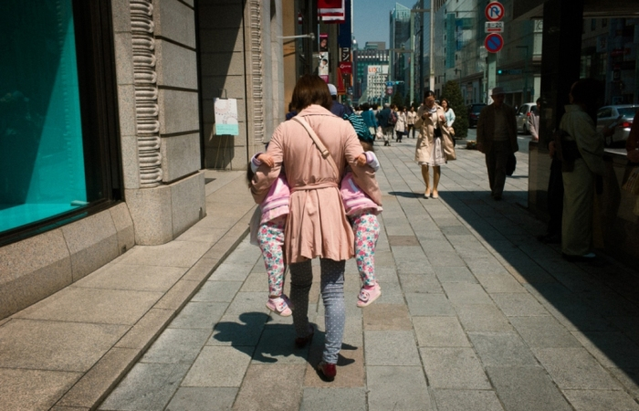 На улицах Японии. Автор: Shin Noguchi.