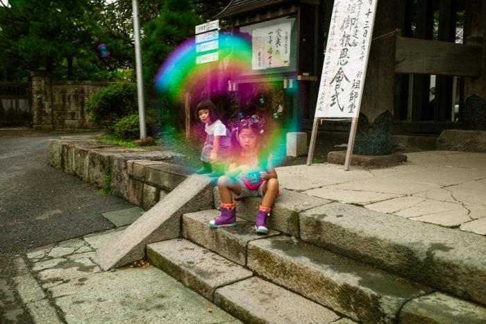 Мыльные пузыри. Автор: Shin Noguchi.