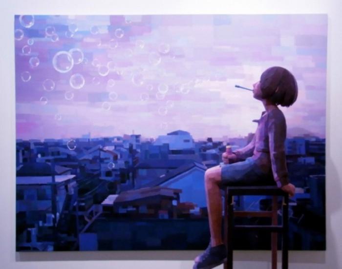 Трёхмерное творчество Шинтаро Охата (Shintaro Ohata).