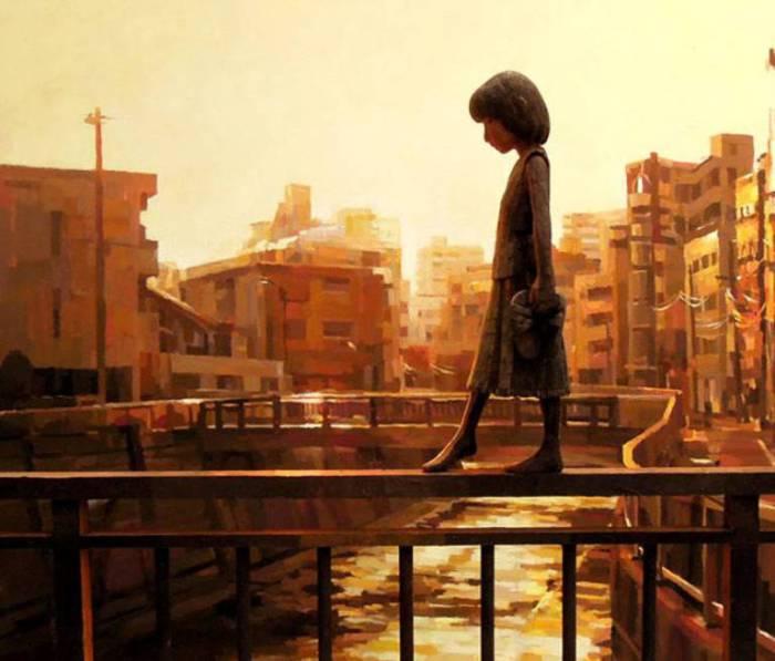 Впечатляющие работы Шинтаро Охата (Shintaro Ohata).