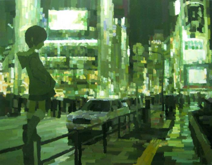 Очаровательные работы Шинтаро Охата (Shintaro Ohata).
