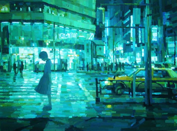 Трёхмерные работы Шинтаро Охата (Shintaro Ohata).