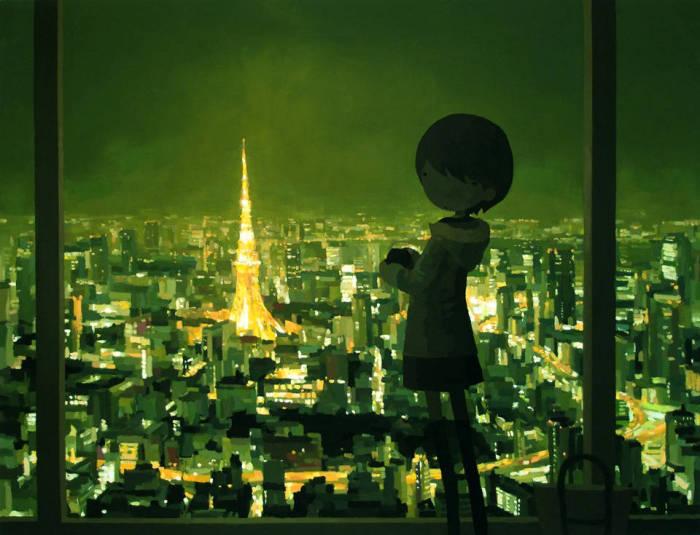 Уникальные работы Шинтаро Охата (Shintaro Ohata).