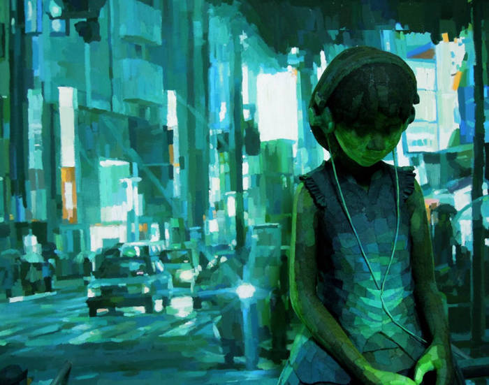 Милые работы Шинтаро Охата (Shintaro Ohata).