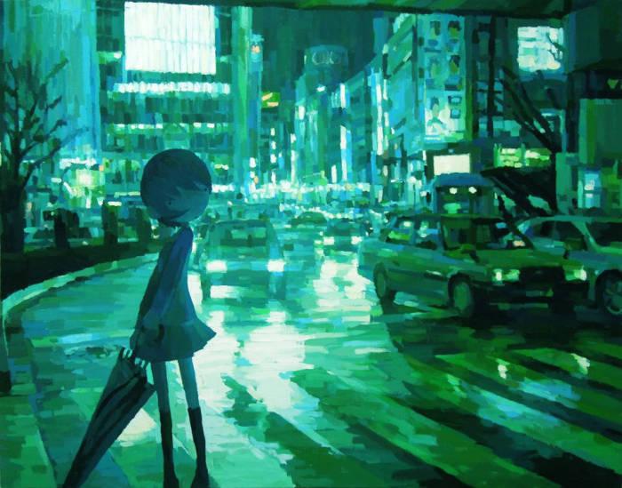 Нежные работы Шинтаро Охата (Shintaro Ohata).