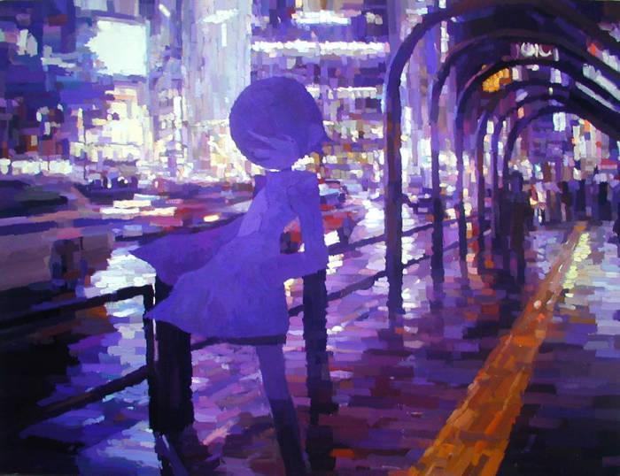 Душевные работы Шинтаро Охата (Shintaro Ohata).