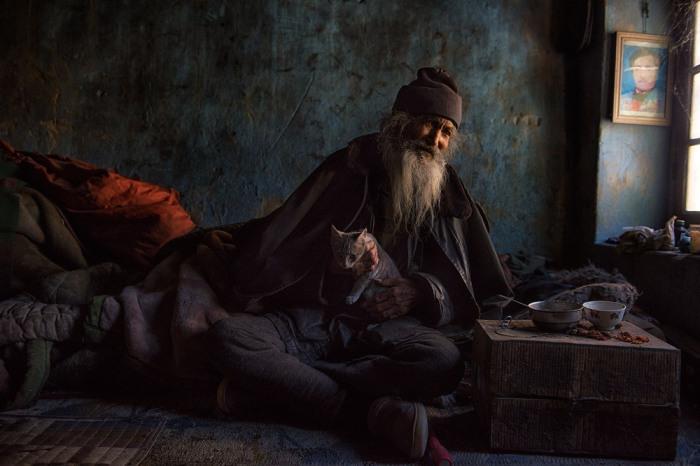 Бородатый мужчина. Автор: Sankar Sridhar.