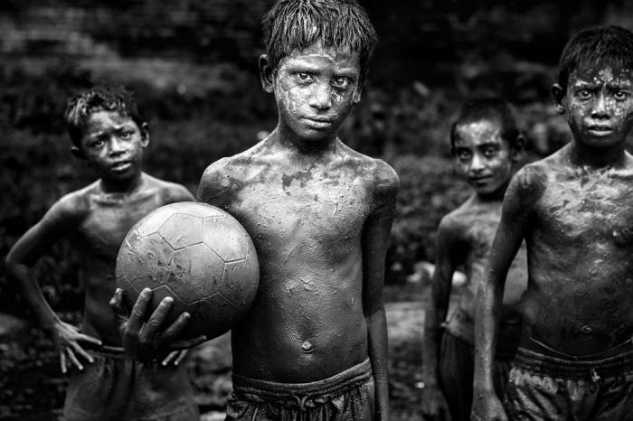 Детство, Газипур, Дакка, Бангладеш. Автор: Probal Rashid.