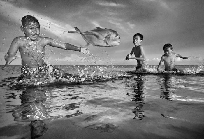 Прыжок, Денпасар, Бали, Индонезия. Автор: Agung Anom Manik.