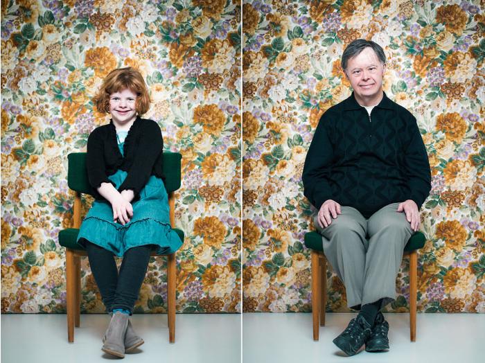 Портреты людей с синдромом Дауна. Автор фото: Sigga Ella.