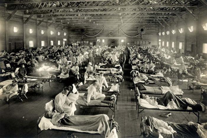 Вспышки гриппа. \ Фото: newscientist.com.