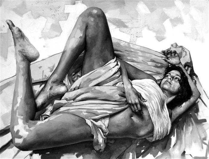 Монохромные работы Сильвио Порционато (Silvio Porzionato).