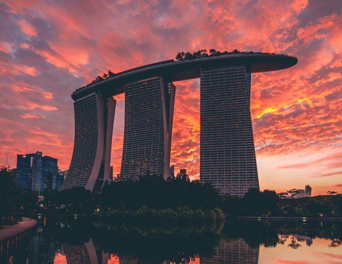 Роскошный Сингапур. Автор: Yik Keat Lee.
