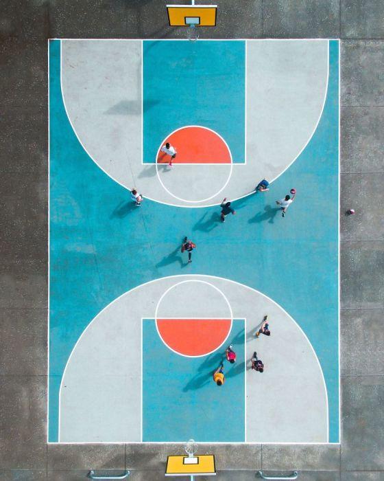 Баскетбол, первая премия в категории портрет среди профессионалов. Автор: Petra Leary.