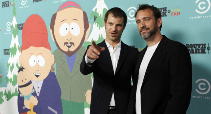 Шоураннеры: Мэтт Стоун и Трей Паркер, авторы «Южного Парка». \ Фото: 2x2tv.ru.