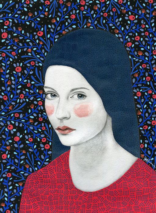 Она. Автор: Sofia Bonati.