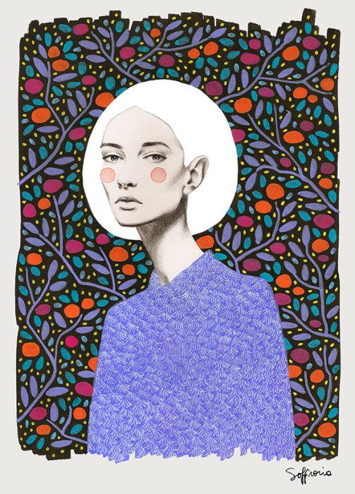 Холод. Автор: Sofia Bonati.