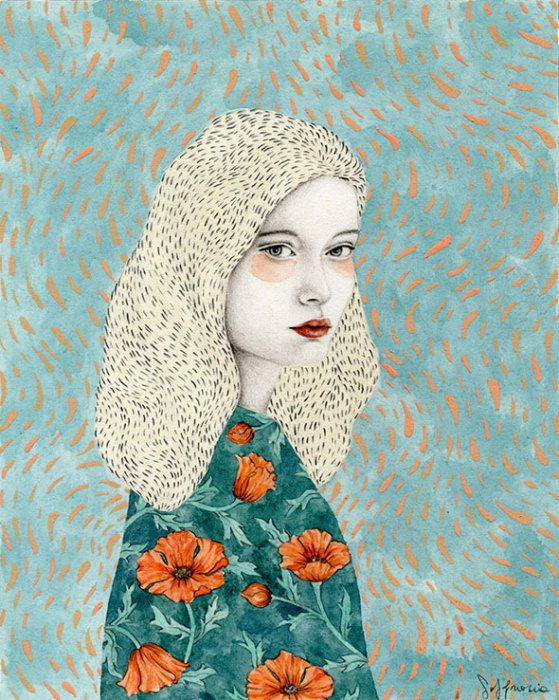 Маки. Автор: Sofia Bonati.