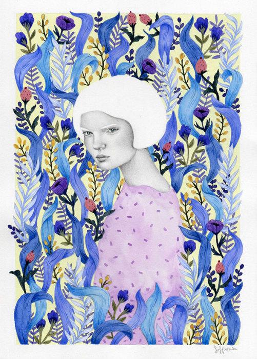Поле. Автор: Sofia Bonati.