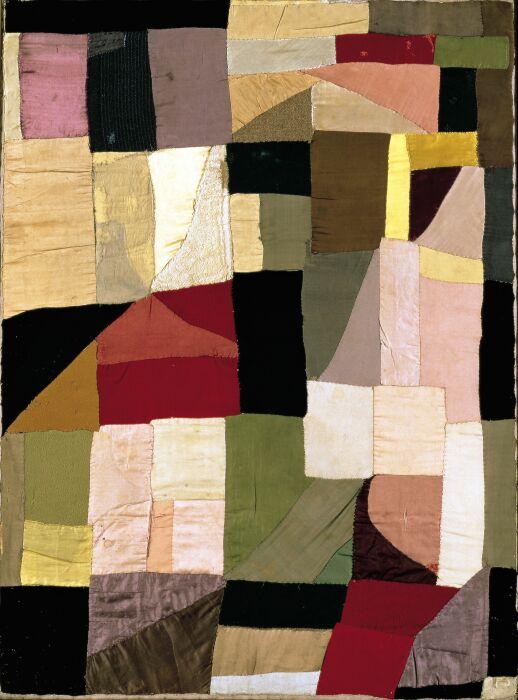 Одеяло от Сони Делоне, 1911 год. \ Фото: tumblr.com.
