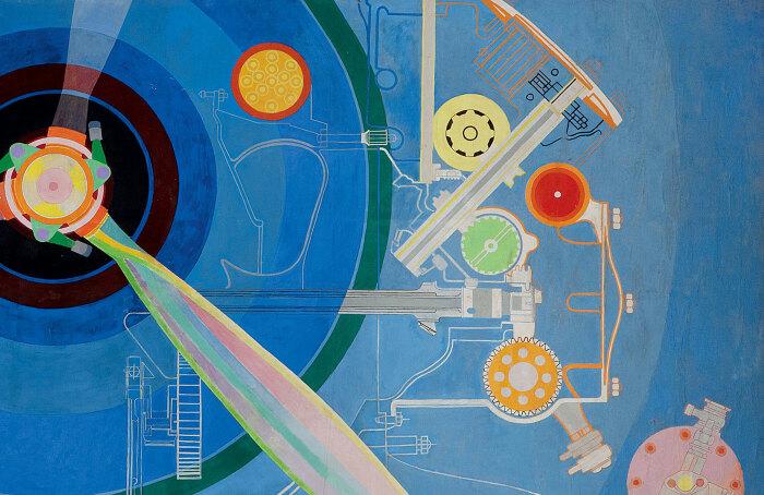 Пропеллер (Воздушный павильон), Соня Делоне, 1937 год. \ Фото: artblart.com.