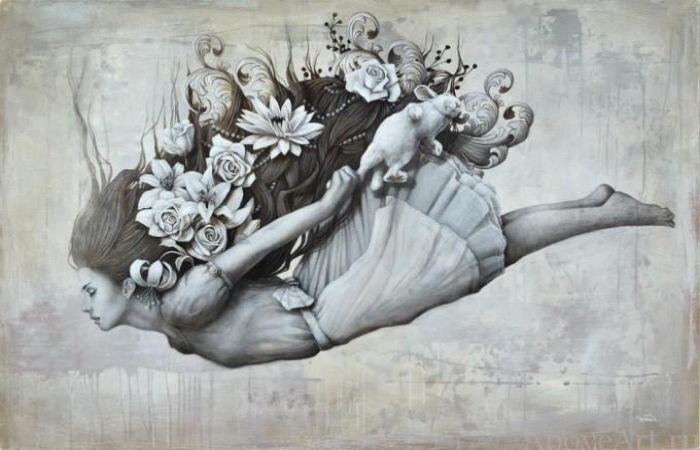 Неизбежное падение, или полёт мыслей. Автор: Sophie Wilkins.