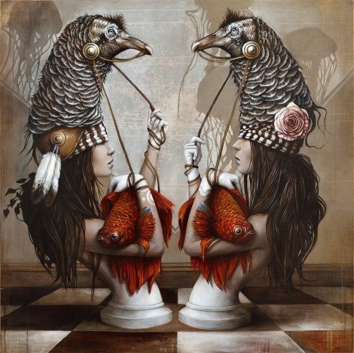 Шахи. Автор: Sophie Wilkins.