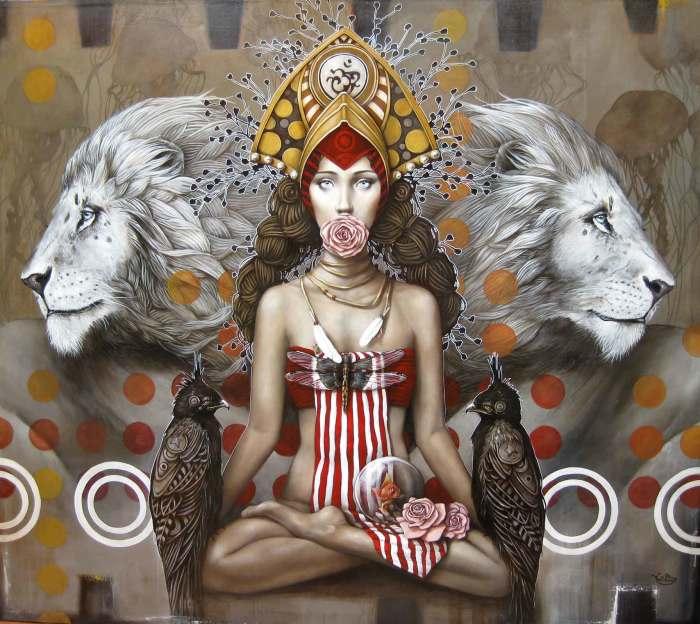 Медитация. Автор: Sophie Wilkins.