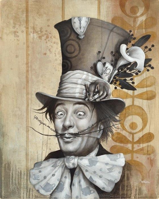Безумный шляпник. Автор: Sophie Wilkins.