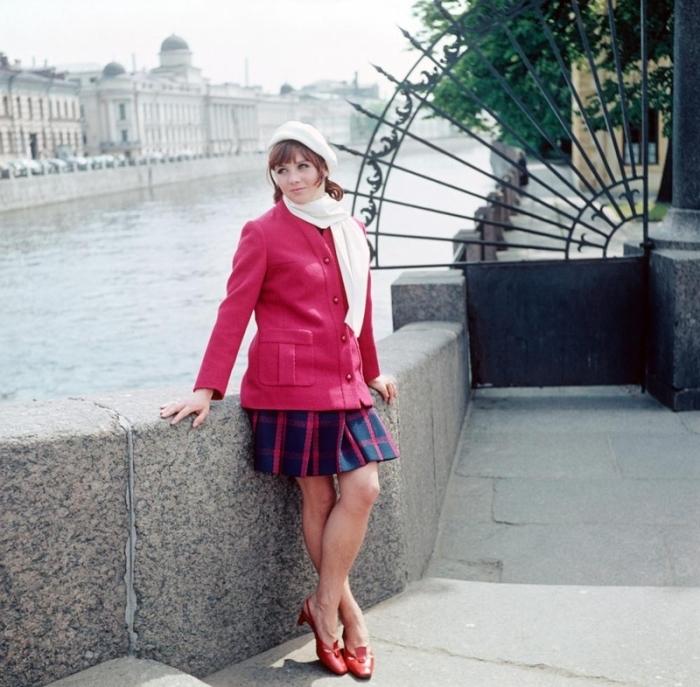 Платье и жакет, 1968 год.
